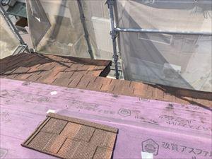 屋根 カバー工法 Tルーフ施工状況