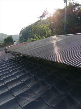 トタン屋根 雨漏り 点検