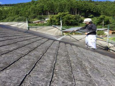 屋根・外壁塗装 高圧洗浄②