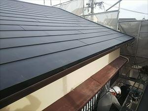 雨水を受流す機能 屋根の隙間