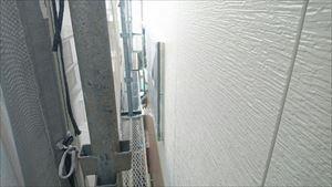 2階外壁 シーラー下塗り作業