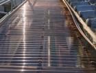 波板屋根 張り替え工事後 ポリカーボネート