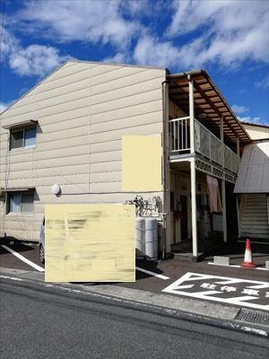 熊本市東区の集合住宅で雨漏りが発生し現地調査にお伺いしました