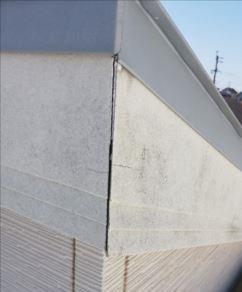 破風板 隙間 取り合い部 劣化
