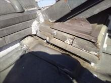 漆喰劣化 のし瓦破損