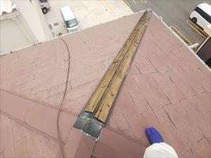 棟板金飛散 雨漏れ箇所
