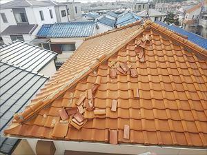 屋根材破損 雨漏り原因