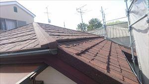 屋根全景 カバー工法
