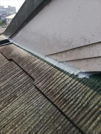 屋根の隙間 コーキング補修