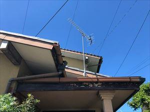 瓦屋根葺き替え 現地調査