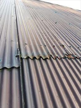 トタン屋根 腐食