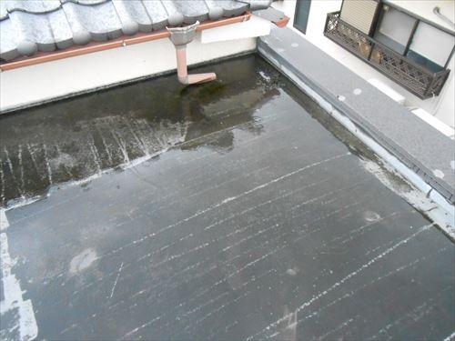 シート防水の劣化
