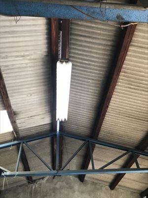 雨漏れ調査 工場屋根の様子