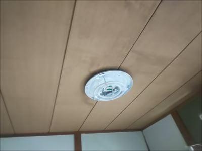 天井雨漏り 張替え前