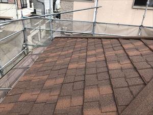 屋根全景 カバー工法②