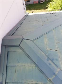 スレート屋根 塗装剥がれ