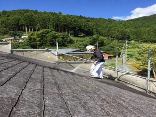 屋根・外壁塗装 高圧洗浄①
