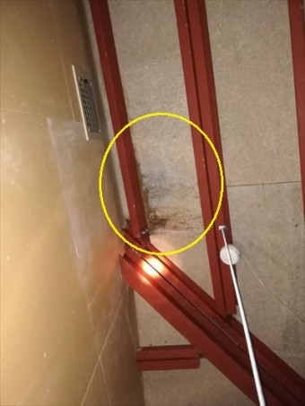 雨漏り 天井内