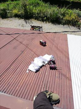 トタン屋根 雨漏り カバー工法