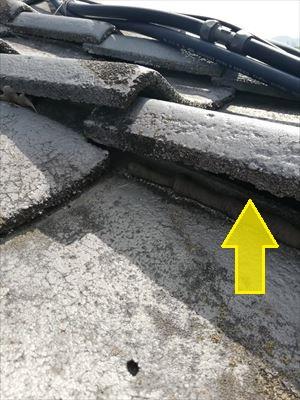 コンクリート瓦 隙間 雨漏り