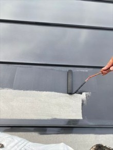 中塗り 屋根塗装