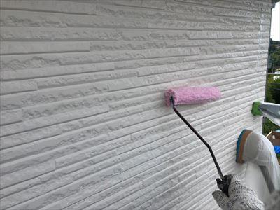外壁 塗装工事 下塗り