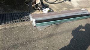 屋根 カバー工法 棟 材料