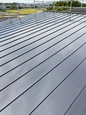 ガルバリウム屋根塗装 完工写真