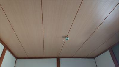 天井雨漏り 張替え後