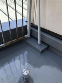 2階防水工事完了