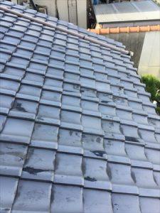屋根材 瓦 差替え完了
