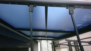テラス屋根 張替え工事
