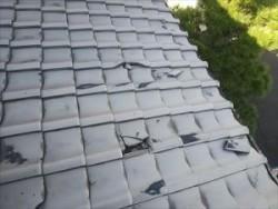 屋根材 割れやズレ