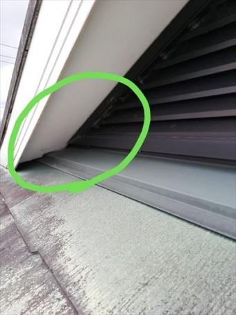 屋根 換気口 隙間